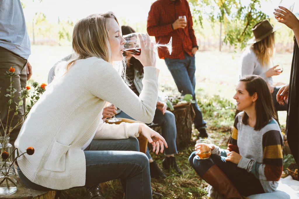 post boda con amigos